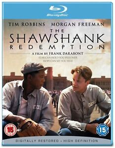SHAWSHANK-REDEMPTION-1994-BLU-RAY-TIM-ROBBINS-MORGAN-FREEMAN-BRAND-NEW