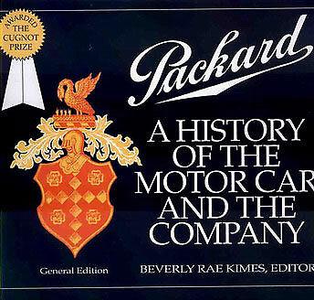 PACKARD BOOK KIMES HISTORY COMPANY MOTOR CAR MOTORCAR BEVERLY DARRIN 8 6 PAKARD