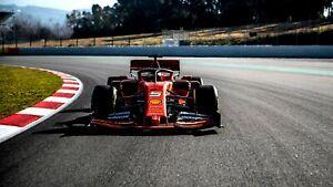 """Ferrari SF90 Formula 1 2019 Car Auto Art Silk Wall Poster Print 24x36"""""""