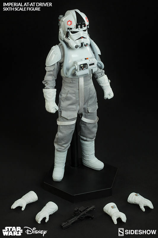 1/6 Star Star Star Wars Episode V Imperial AT-AT Driver Sideshow Collectibles 100124 9ca2eb