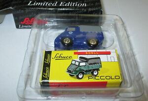 Schuco-Piccolo-05272-Mercedes-Benz-Unimog-U-401-034-THW-034-Neu-OVP