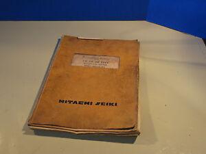 hitachi seiki vk45 vm seicos mii programing manual vm vk hf ebay rh ebay com Hitachi Seiki HT20 Hitachi Seiki USA