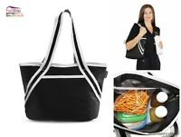 Lunch Tote Bag Women Shoulder Strap Insulated Portable Large Carry Travel Picnic