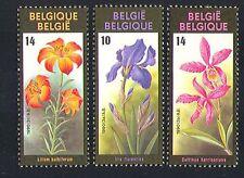 Belgium 1990 Flowers/Plants/Nature/Iris/Lilly 3v set (n32560)