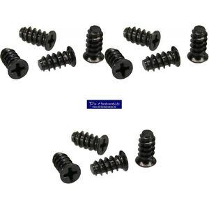 12-Stueck-5-x-10mm-Schraubenkit-fuer-Systemluefter-Gehaeuseluefterschauben-schwarz