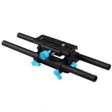 FOTGA DP3000 M4 QR Quick Release 15mm Rail Rod Baseplate Support Fr Follow Focus