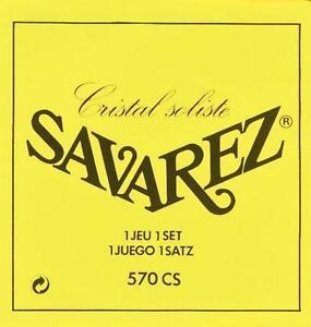 Savarez 570 CS Cristal soliste very high tension Nylonsaiten