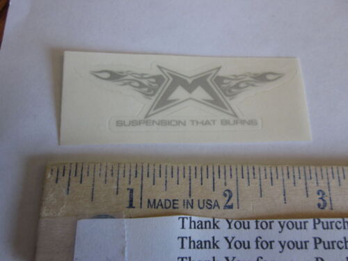 """3/"""" MARZOCCHI BOMBER Mountain Bike Bicycle DECAL STICKER"""