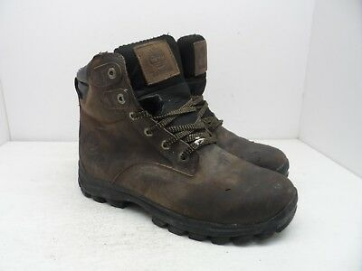 Timberland Men's WATERPROOF & INSULATED CHILLBERG MID WP BOOTS 7855A Brown 10.5M | eBay