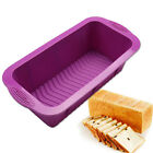 Rectangle Brick Bread Cake Baking Mold Loaf Silicone Bakeware Pan Mould