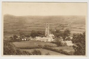 Devon postcard - Dartmoor, Widdecombe in the Moor (A1114)
