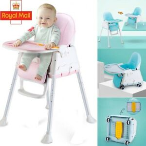 Details about Baby Booster Seat Feeding High Chair Child Toddler Dining Home Travel Portable