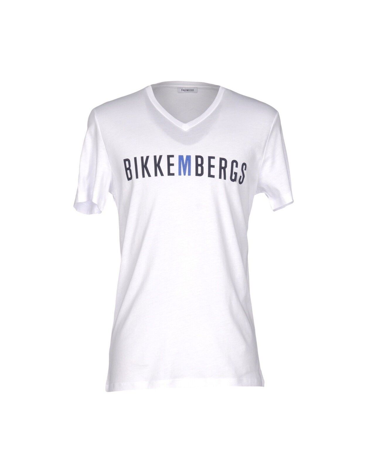 Authentic Rare DIRK BIKKEMBERGS Men's Short Sleeve Casual Logo T-shirt Tee
