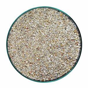Substrat d'aquarium de sable de gravier de silice légère de 25 kg 2-3mm 100% naturel