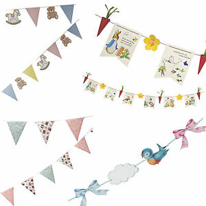 Image Is Loading Baby Shower 1st Birthday Party Decorations Bunting Amp
