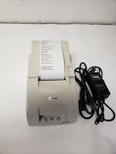 Epson Tm U220a M188a Dot Matrix Pos Receipt Printer Usb Rj45 With Power Supply