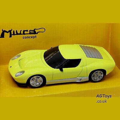 Lamborghini Miura Concept 2007 Gelb 1//24 Mondo Motors Modellauto Modell Auto