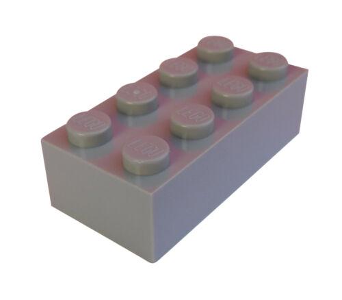 Neuf 3001 Pierres 2x4 Pierre Basics LEGO 10 pièces gris clair light bluish gray