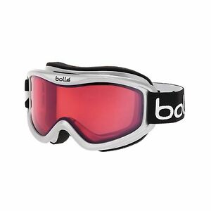 b2e65548e36b Image is loading Bolle-Mojo-Snow-Goggles-White-Vermillon-Lens-Free-