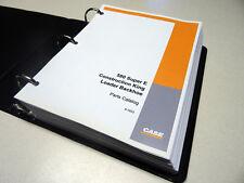 Case 580E/580SE/580 Super E Loader Backhoe Parts Catalog, Manual, Book, NEW