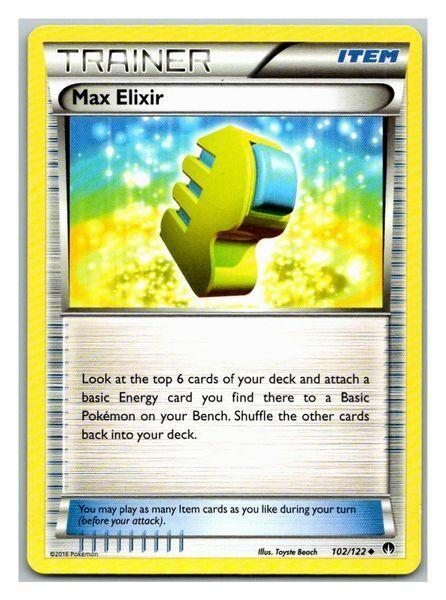 Pokemon Max Elixir 102/122 Breakpoint LP