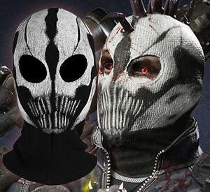 Call of Duty COD Commander Elias Balaclava Ghost Mask Skull Face ...