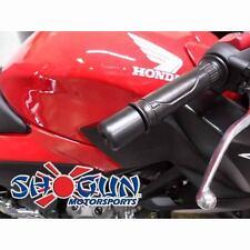 Honda 1999-06 CBR600F4 CBR600F4i 600 F4 F4i Shogun Bar Ends Black - Bar End