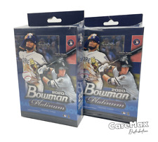 2020 Bowman Platinum Baseball Hanger (2 box lot!)