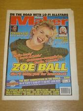 MELODY MAKER 1997 OCT 18 ZOE BALL LO FI ALLSTARS ECHO