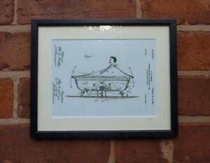 Vasca Da Bagno Disegno : Brevetto usa disegno a dondolo bagno vasca da bagno stampa montata