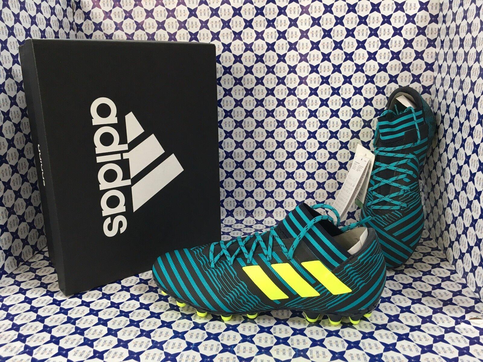 si affrettò a vedere Scarpe Calcio Calcio Calcio Adidas Nemeziz 17.3 AG -- Blu Ottanio -- S82341  prezzi bassi di tutti i giorni