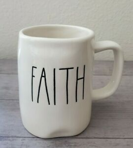 BRAND-NEW-RAE-DUNN-By-Magenta-FAITH-Coffee-Tea-Mug-Farmhouse-Fall-Home-Decor
