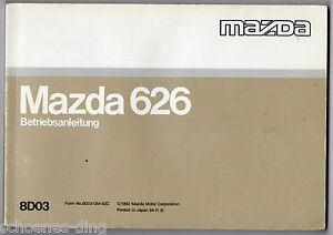 Betriebsanleitung-MAZDA-626-1992