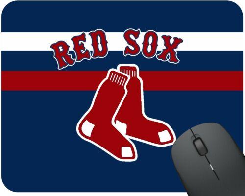 "10/"" X 8.5/"" MLB Desktop Mouse Pad Boston Red Sox Baseball"