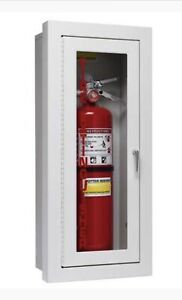 Potter Roemer Semi Recessed Fire Extinguisher Cabinet Ebay