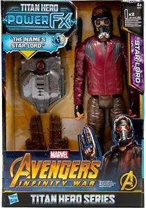Hasbro E0611 Avengers Infinity War Titan Hero Power FX Actionfigur Star-Lord NEU