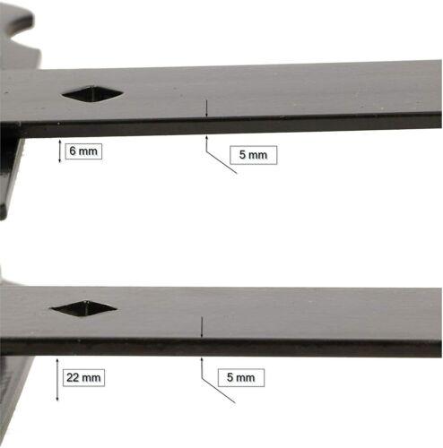 KOTARBAU Ladenband 800 mm 2St Kugellager Schmiernippel Torband Türband Scharnier