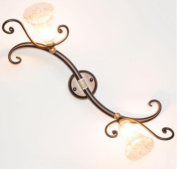 LAMPADE LINEA FARETTO LAMPADA A MURO APPLIQUE 2 LUCI ORIENTABILI ORIENTABILI LUCI c31543