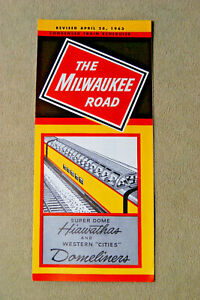Milwaukee-Road-Condensed-Time-Table-4-28-63