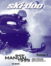 Ski-Doo service manual 1999 MACH 1 / 1 R / Z / Z R / Z LT / Z LT R & Z M.H. R