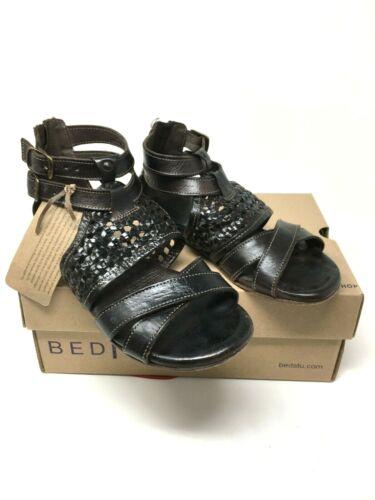 Bed Stu Capriana Tiesta Di Moro Dip Dye Rustic Leather Sandal Size:7