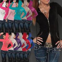 NEW WOMEN CARDIGAN JACKET LADIES PULLOVER SWEATER DRESS JUMPER SIZE 6 8 10 12