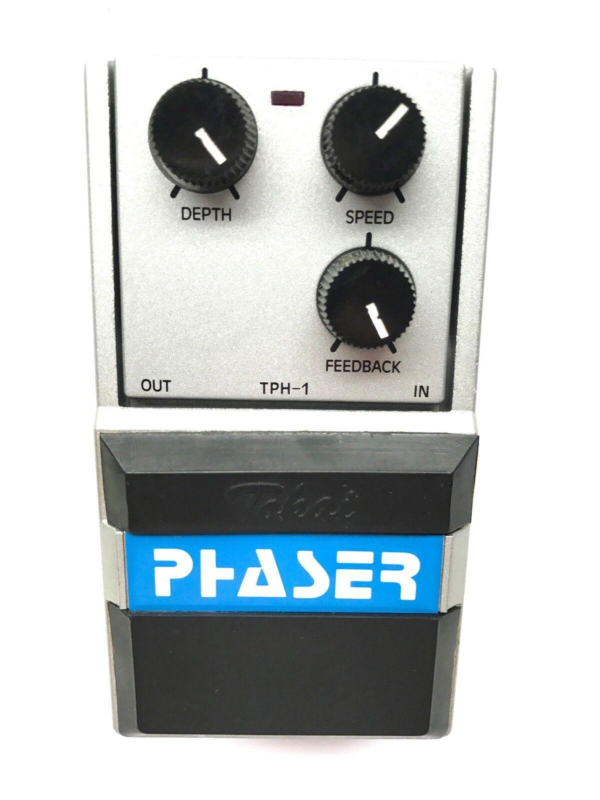 Tokai TPH-1, Phaser, Series One, MIJ, década década década de 1980, Vintage Pedal De Efecto  buena calidad