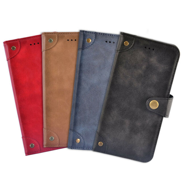 cheap for discount e62a7 7785b Premium Genuine Real Retro Flip Leather Case Stand Cover Skin For Cubot  Phone