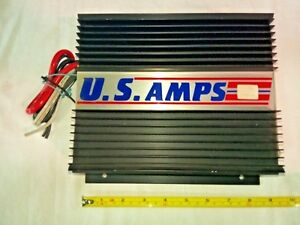 US-Amps-CAR-AMPLIFIER-MODEL-US-50-MADE-IN-THE-USA-MINT-OLD-SKOOL-RARE