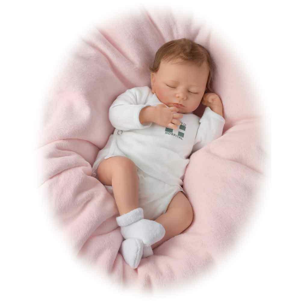 Ashton-Drake verdaderamente real  respirar  muñeca bebé realista de Bebé Muñeca Ashley