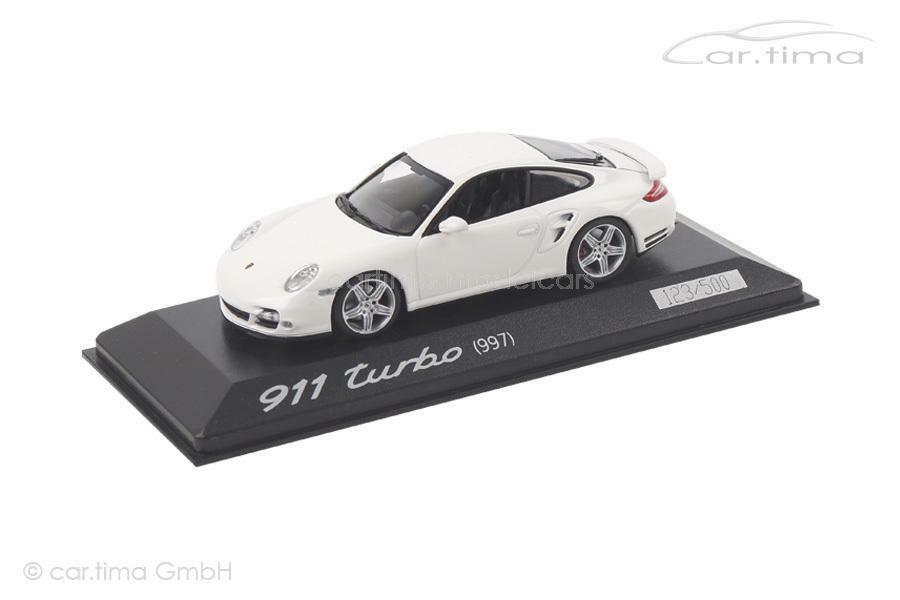 Porsche 911 (997) Turbo-blancoo - 1 of 500-Minichamps - - - 1 43 52ab90