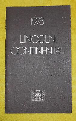 1980 Lincoln OWNER'S Versailles MANUAL ORIGINAL 44wF8rq