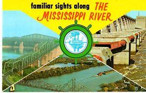 Familiar-Sights-Along-the-MS-River-Bridges-Postcard