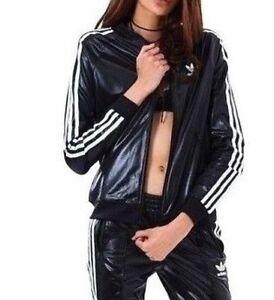 Image is loading adidas-Women-039-s-2pc-SET-WET-look-